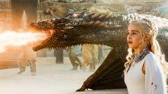 Drogon & Daenerys Targaryen - The Dance Of Dragons - Season 5 Episode 9