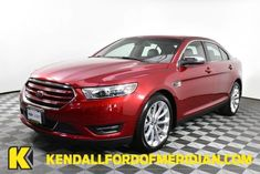Get Pricing For Used 2018 Ford Taurus Limited Rc7837 In Maroon At