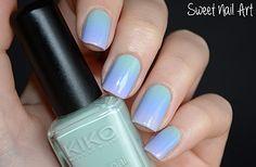 Sweet Nail Art - Pastel Gradient