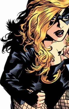 Black Canary-Artist Unknown                                                                                                                                                     Mais