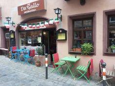 Da gallo - italian Radbrunnengasse 2 90403 Nürnberg Tel: 0911 - 238 85 38 Mail: kontakt@dagallo-antipasteria.de Öffnungszeiten: Montag - Samstag von 17:00 - 23:00