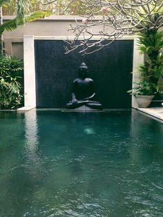 Zen style elegant pond for an outdoor garden landscape! Exterior Design, Interior And Exterior, Dream Pools, Cool Pools, Pool Designs, Water Features, Backyard Landscaping, Garden Design, Beautiful Places