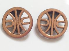 Vintage RENOIR Copper DANCE Modernist Clip by TheCopperCat on Etsy, $16.00
