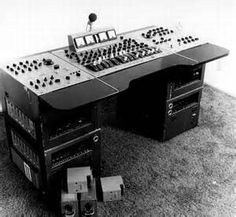 One of two EMI REDD 37s from Abbey Road- note V72s in side racks