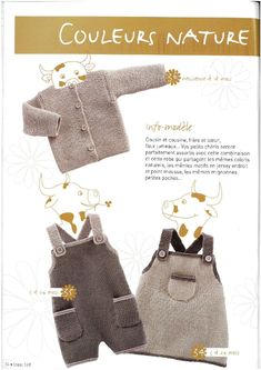 Overall, jumper dress, cardigan very nice pattern Baby Knitting Patterns, Knitting Magazine, Jumper Dress, Drops Design, Couture, Knit Crochet, Overalls, Baby Kids, Babies Clothes