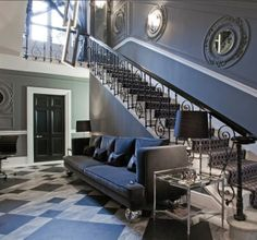 interior design candy and candy decorating entrance hall gray marble floor