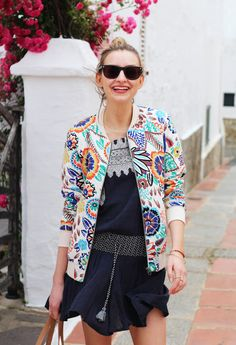 My Style | Boden Floral Bomber Jacket - Coco's Tea PartyCoco's Tea Party