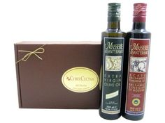 Authentic Italian Treat Gift Basket -- Extra Virgin Olive Oil And Balsamic Vinegar (Italy), ,
