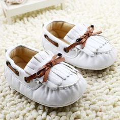 Moccasins soft Tassel Baby Shoes infant First walker soft-soled shoes for boys and girls