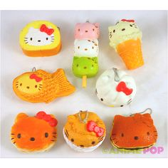 Hello Kitty Squishies inspired by the rement