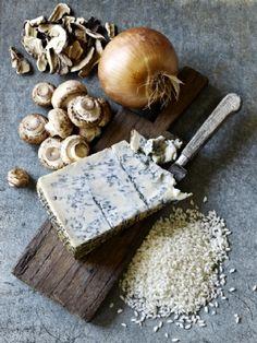 risotto funghi e gorgonzola ...