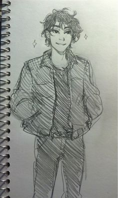 Anubis! And with a frown and bags under the eyes from lack of sleep, he would look like Nico!XD