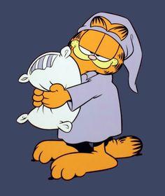 Garfield sleepy time