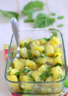 Cold Dishes, Antipasto, Gnocchi, Healthy Cooking, Vegan Vegetarian, Cantaloupe, Potato Salad, Salad Recipes, Buffet