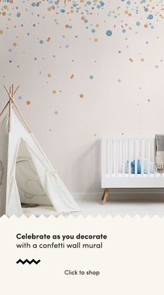 Welcome a fun-filled, positive aura into your space with the heartwarming Cream and Blue Confetti Sprinkles Wallpaper Mural. A stylish, made to measure mural. Standard Wallpaper, Normal Wallpaper, How To Hang Wallpaper, Kids Room Wallpaper, Wallpaper Murals, Nursery Wallpaper, Confetti Wallpaper, Pastel Wallpaper, Nursery Room