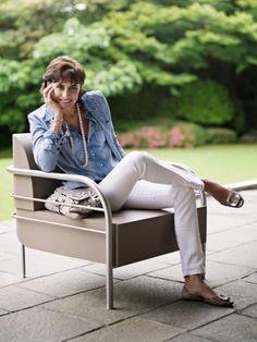 Style Hero: Inès de La Fressange | The Mommist #fashion #style