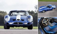 Just 36 of the Ferrari 250 GTO models were built by the Italian manufacturer and this blue, 1962 one was the second to roll off the production line. It can still do 0-60mph in less than six seconds.