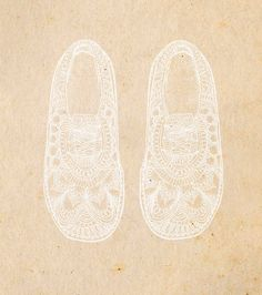 Lace Shoes - Emily Hamilton illustration