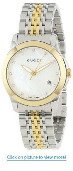8a5f4eb87a0 Amazon.com  Gucci G-Timeless Stainless Steel Watch with Yellow-Gold PVD  Lomen s Links(Model YA126513)  Watches