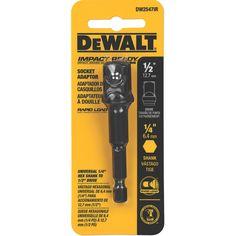 Stanley DeWalt DW2547IR 0.5-inch Impact Ready Socket Adaptor