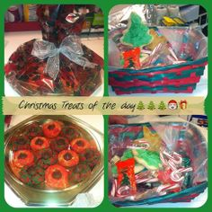 We love getting treats!!!! Happy Holidays....Dr.Mclean on a diet...Again...soooooo we will eat this on his behalf...lol