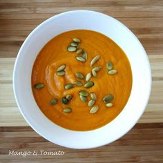 Roasted carrot and potato soup
