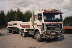 Truck Volvo F-12 Korpi Kärsämäki Fin.