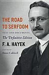"""The second link in the """"External Links"""" section of the Wikipedia page for this book has the """"Reader's Digest"""" version of Hayek's book -- if you don't have the time, inclination, or cash to buy and read the full text, this is an excellent alternative to get Hayek's arguments."""
