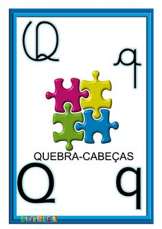 alfabeto quatro tipos de letras colorido ilustrado Diy And Crafts, Clip Art, Education, Cards, 1, Kids Alphabet, Alphabet Letters To Print, Cursive Alphabet, Abc Centers