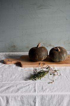 Hokaido Pumpkin Galette | Photography and Styling by Sanda Vuckovic Pagaimo