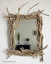 miroir bois flotté deco