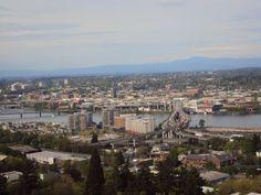City of Portland in Oregon