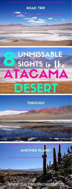 The Atacama Desert. If it's not at the top of your South America travel bucket list, it should be. The Atacama is the Chile hotspot for night sky watching, stars, flamingos, cactus groves and more. Skip San Pedro de Atacama and head off on a road trip into an environment like no other.
