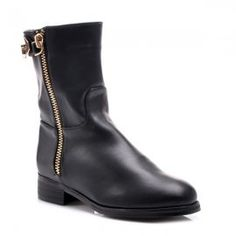 Čierne topánky X679B /S3-96P Riding Boots, Biker, Shoes, Fashion, Horse Riding Boots, Moda, Zapatos, Shoes Outlet, Fashion Styles