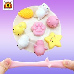 of style Soft cute animals decompress colorful stretch squishy reduce stress make people happy and relaxed – New Furniture Doll Toys, Dolls, Emotional Strength, Stress Relief Toys, Reduce Stress, New Furniture, Cute Animals, Colorful, Creative