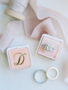 Beautiful princess-cut diamond ring: http://www.stylemepretty.com/missouri-weddings/st-louis/2016/08/12/bright-and-beautiful-croatian-wedding-with-boston-terrier/ Photography: http://mnc-photography.com/