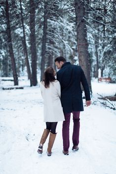 romantic winter engagement session in calgary, calgary wedding photographer, calgary wedding Winter Engagement Pictures, Engagement Photo Outfits, Engagement Shoots, Outdoor Winter Wedding, Winter Wedding Receptions, Sarah Photography, Wedding Photography, Couple Photography, Banff