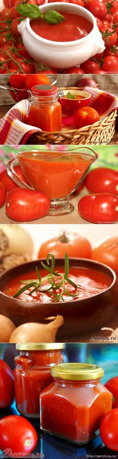 Домашний натуральный кетчуп на любой вкус - подборка супер рецептов