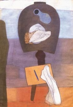 Lajos Vajda (1908-1941)  Still-life on a Table of Horseshoe Form, 1934