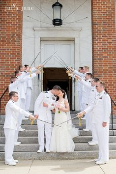 621765f394b Military Wedding at the Coast Guard Academy Chapel #swordarch  @coastalgourmet Coast Guard Wedding,