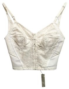 Dolce&Gabbana Dolce And Gabbana Cream Lace And Satin Bralette Top. Free shipping and guaranteed authenticity on Dolce&Gabbana Dolce And Gabbana Cream Lace And Satin Bralette Top at Tradesy. Dolce and Gabbana Cream Lace and Satin Bralette  ...