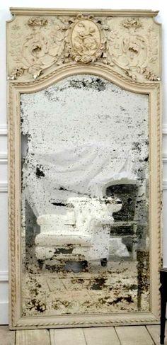 antique silvered mirror