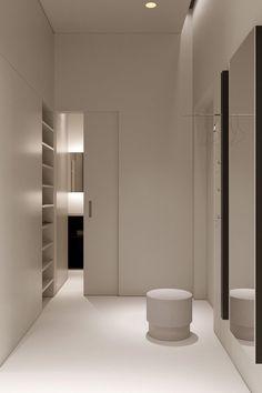 Bedroom Minimalist, Minimalist Apartment, Minimalist Home Interior, Modern Interior, Interior Architecture, Minimalist House, Interior Design Blogs, Studio Interior, Casa Kardashian
