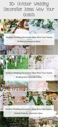 30+ Outdoor Wedding Decoration Ideas Wow Your Guests / cheap wedding ideas #gardenweddingInspiration #gardenweddingHairstyles #Fairytalegardenwedding #gardenweddingIdeas #gardenweddingParty