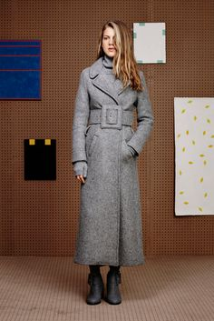 Band of Outsiders - Fall 2015 Ready-to-Wear - Look 2 of 25