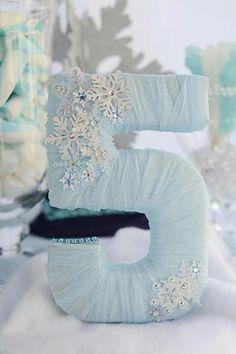 Frozen Birthday Party via Kara's Party Ideas Frozen Birthday Theme, Frozen Themed Birthday Party, Cinderella Birthday, 4th Birthday Parties, 5th Birthday, Frozen Party Table, Frozen Party Food, Frozen Party Favors, Birthday Ideas