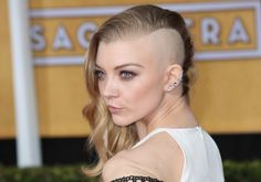 Natalie Dormer agreed to shave her head completely for 'Mockingjay'