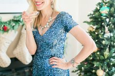 Holiday Style With Charm & Chain | theglitterguide.com