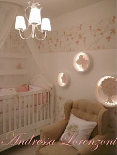 Love the wall lights