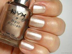 NYX Girls Nail Polish Beige on Caffeine - Nihrida